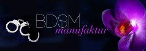 Banner BDSM-Manufaktur groß